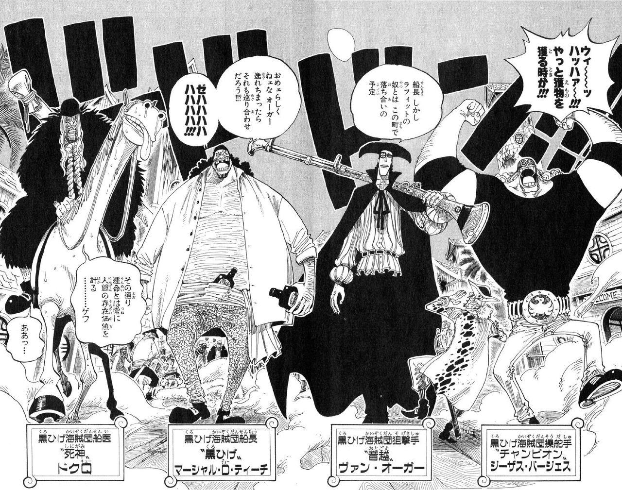 黒ひげ海賊団メンバーの能力を解説 10人目の船長と能力者狩りを考察してみた 未来の本棚